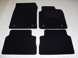 Vauxhall Vectra C 2003-2008 Fully Tailored Deluxe Car Mats in Black.