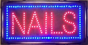 NAILS-LED-LIGHTED-SIGN-store-display-advertising-decor