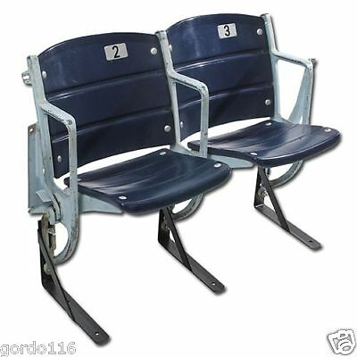 Texas Stadium Seats Dallas Cowboys Game USED Connected Pair of Chairs seats COA