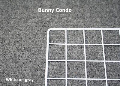 Rabbit-cage-Indoor-BUNNY-MINI-CONDO-deluxe-hutch-pet-pen-smooth-soft-floors