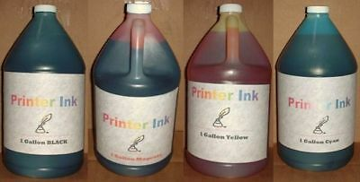 4 Gallon Bulk Refill Ink Color Hp Cartridge 21 22 27 28 6...