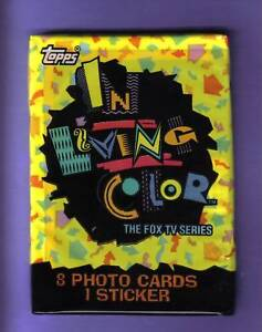 1992-TOPPS-IN-LIVING-COLOR-PACK-Fresh-from-Box