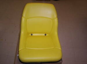 John Deere High Back Delux Seat 445 455 4010  AM117489