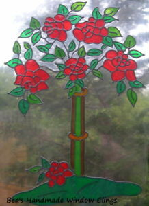 BEA-039-S-ROSE-TREE-STAINED-GLASS-EFFECT-WINDOW-CLING-DECAL