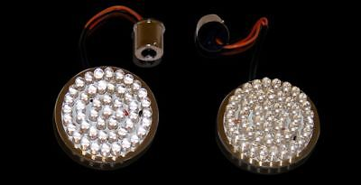 CUSTOM DYNAMICS LED FRONT TURN SIGNALS AMBER FOR HARLEY DAVIDSON FLHX 2010-