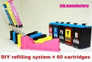 DIY-ink-refill-kit-For-HP-564-564XL-XL-ink-Cartridge-HP-C6340-C6380