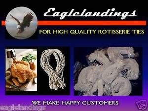 100-7-034-ROTISSERIE-CHICKEN-POULTRY-ELASTIC-TIES-STRING-Free-5-3-034-amp-5-5-034