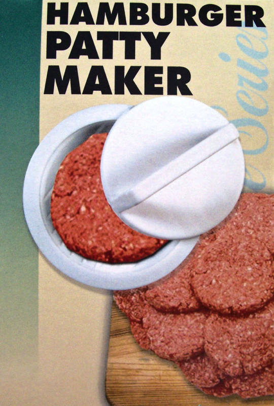 Hamburger Patty Maker Burger Press Meat Mold Ground Beef Presses Free Shipping