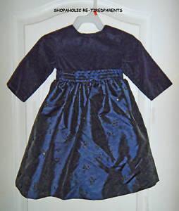 CHRISTMAS - DRESS - SPARKLY - ROYAL BLUE & PLUM - INFANTS - SIZE 12 MO –NEW $40