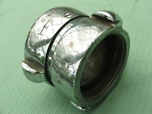 """SOLID BRASS/ALUMINUM 2 ½"""" NH x 2 ½"""" NH - Double Female CONNECTOR"""