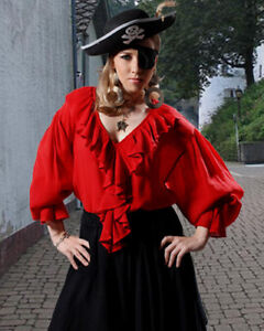 Renaissance-Wench-Pirate-Medieval-Costume-Blouse-ToBeAPirate-com