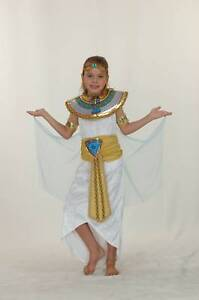 Girls Cleopatra Fancy Dress outfit  6-8 8-10yrs