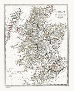 Scotland-map-of-1841