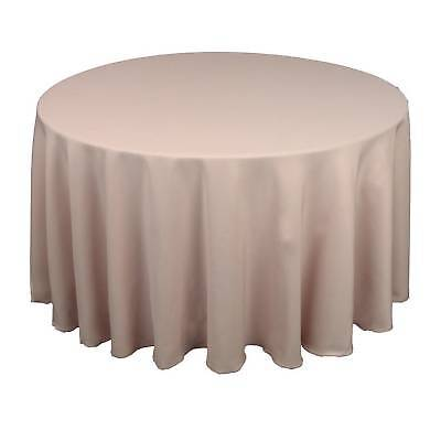 10 round 120 polyester tablecloths 5ft table cover high for 120 round table cover