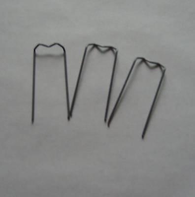 (0,01€/St) 100 Patenthaften 17/40 Nadeln Krampen Draht    Adventskranz