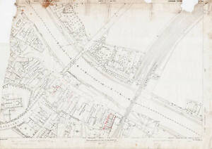Selby-Bridge-area-1891-Selby-Yorks-map-221-7-22