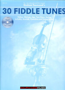 GRAHAM-TOWNSEND-30-FIDDLE-TUNES-SONG-BOOK-amp-CD-VIOLIN