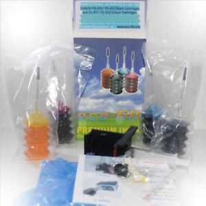 NEW-CANON-PIXMA-MP250-INK-CARTRIDGE-REFILL-KIT-TOOLS