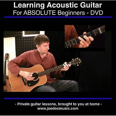 Learn to Play Acoustic Guitar DVD BEST BEGINNER LESSONS on Rummage