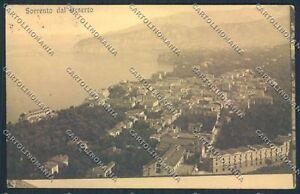 Napoli Sorrento cartolina D5974 SZD - Italia - Napoli Sorrento cartolina D5974 SZD - Italia