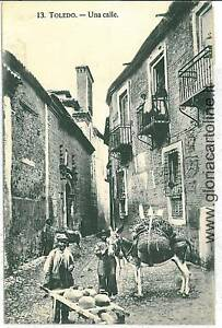 POSTCARD-SPAIN-POSTAL-ANTIGUA-ESPANA-TOLEDO