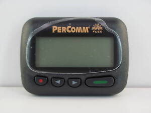 PERCOMM-PA8002-ALPHANUMERIC-PAGER-NEW-929-6625-MHz