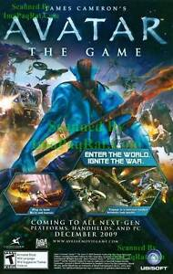 James-Cameron-039-s-Avatar-The-Game-Video-Game-Print-Ad
