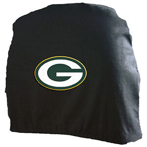 green bay packers car auto truck seat head rest covers. Black Bedroom Furniture Sets. Home Design Ideas