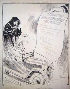 SAM-ARMSTRONG-Signed-c-1926-Political-Cartoon-LISTED