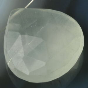 PREHNITE-N-17mm-Faceted-Drop-Bead-C-Grade