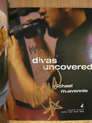 Divas Uncovered Signed By Maria +photo Wrestling Wwe