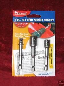 3-Hex-drill-socket-drivers-new-power-tool-adapter-SET