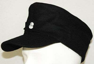WWII GERMAN WH ELITE EM M43 PANZER WOOL FIELD CAP L-3461 for sale  China
