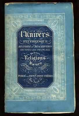 l Universum malerische ALGERIEN LIBYEN TUNESIEN 1850