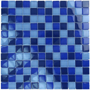 glass tile mkgcb2 blue cobalt kitchen backsplash bath
