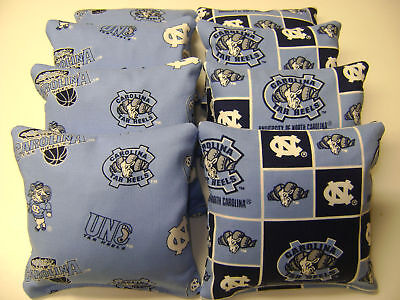 North Carolina Unc Tarheels Cornhole Bags Bean Bag Toss Game 8 Tailgate Toss