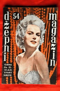 BARBARA-LANG-ON-COVER-1-1957-VERY-RARE-EXYU-MAGAZINE