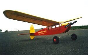 Junior 60 electric plans set r/c balsa built up model