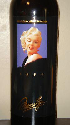 Marilyn Monroe 1994 Napa Cabernet Sauvignon Full Sealed Red Wine