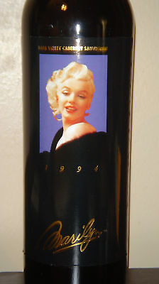 Marilyn Monroe 1994 Napa Cabernet Sauvignon Full Sealed Red Wine