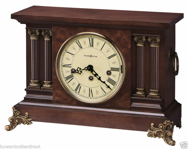 Howard Miller 630 212 Circa Chiming Mantel Clock