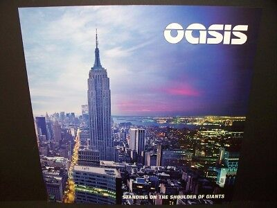 OASIS SHOULDER OF GIANTS PROMO ALBUM POSTER FLAT