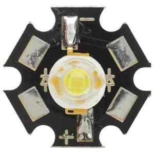 1-3-3v-3W-180-lm-Lumen-WARM-White-Star-LED-High-bright-800mA-120-degree