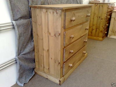 Pine Factory Aylesbury Handmade Assembled 4 Dwr Chest No Flat Packs
