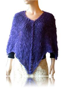 knitting pattern poncho   eBay