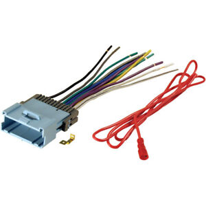stereo wiring harness chevy ebay. Black Bedroom Furniture Sets. Home Design Ideas