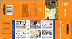 Moomin-Troll-Finland-Stamp-Booklet-MNH-2003-6-1st-Class-Finland