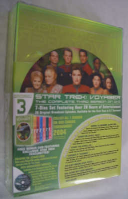 Star Trek: Voyager - Complete Season 3 (dvd) 3rd Sealed +best Buy Bonus Disc