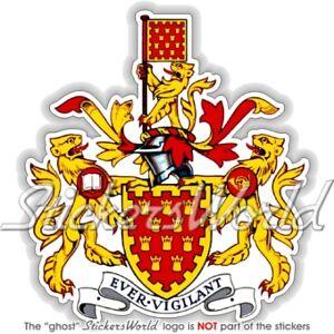 GREATER MANCHESTER Wappen UK Englisch ENGLAND Vinyl Sticker Aufkleber 94mm