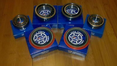 Front Wheel Bearing and Seal Set for Dodge D100 D150 Ram Pickup 2WD 1986-1993